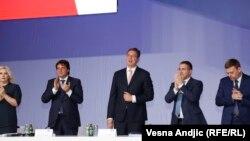 Izborna skupština Srpske napredne stranke, Beograd, 28. maj 2016.