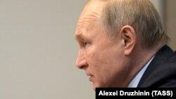 Президент Росії Володимир Путін в окупованій українській Ялті, січень 2020 року