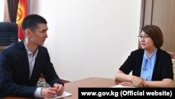 Алтынай Омурбекова и Фарух Садыркулов, 22 июня 2019 г.
