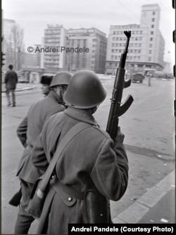 В центре Бухареста 23 декабря 1989 года