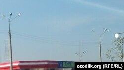 Тошкентда бензин учун навбат¸ 4 ноябр 2013 йил