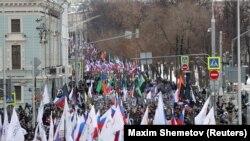 Марш памяці Барыса Нямцова ў Маскве, 24 лютага 2019