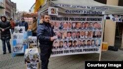 Almaniyada siyasi məhbus aksiyası, arxiv foto
