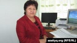 Сауле Нурбеккызы, заведующая учебной частью школы-гимназии. Алматы, сентябрь 2013 года.