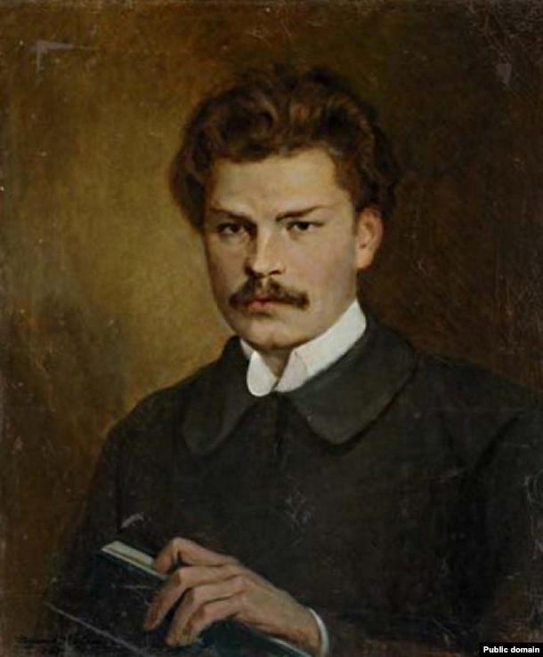 Валянцін Волкаў. Партрэт Максіма Багдановіча, 1927