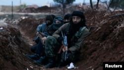 """""""Ислам мамлекети"""" террордук уюмунун согушкерлери"""
