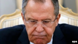 Россия ташқи ишлар вазири Сергей Лавров.