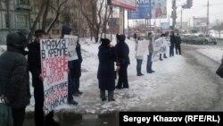 """Пикет гражданских активистов Самары в поддержку """"узников Болотной"""""""