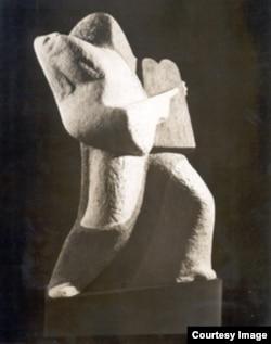"Александр Архипенко, ""Моисей"", 1939"
