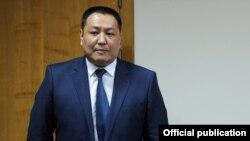 Министр внутренних дел Улан Исраилов.