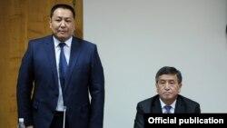 Премьер-министр Сооронбай Жээнбеков Улан Исраиловду 11-ноябрда ИИМдин жамаатына тааныштырды.