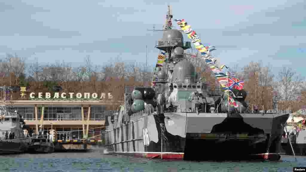 Poslije aneksije Krima, Moskva je značajno povećala svoje prisustvo poput Crnomorske flote.