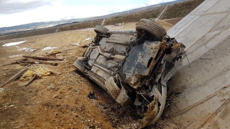 На трассе «Таврида» перевернулся автомобиль, пострадал водитель – спасатели (+фото)