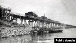 Мост через Керченский пролив 1944 года