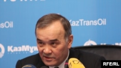 Каиргельды Кабылдин, председатель правления компании «КазМунайГаз». Астана, 18 февраля 2010 года.