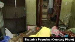Квартира Ивановых после потопа