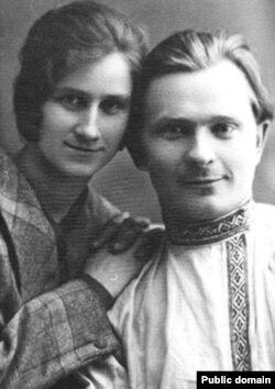 Платон Галавач і яго жонка Ніна