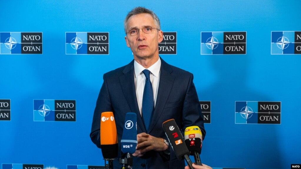 НАТО гуфт, Гурҷистону Украинаро дар баҳри Сиёҳ ҳимоят мекуна