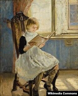 Фрыц фон Удэ, «Кніжка з карцінкамі» (1889)