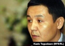 """Касым Аманжол, главный редактор сайта """"Жанаозен"""". Алматы, 13 марта 2012 года."""