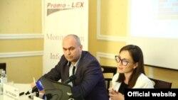 Cornelia Călin la prezentarea Raportului