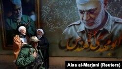 Ceremoniile din Iran marcând 40 de zile de la uciderea generalului Soleimani într-un atac american cu dronă.