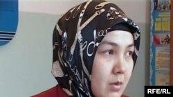 Учительница географии Аида Декебаева. Талдыкорган, декабрь 2009 года.