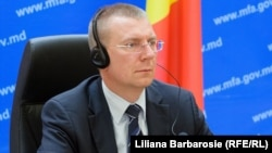 Министр иностранных дел Латвии Эдгарс Ринкевичс (архив)