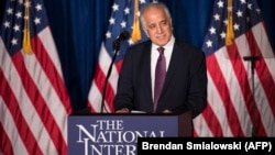 FIILE: U.S. special envoy for peace in Afghanistan, Zalmay Khalilzad.