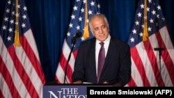 FILE: U.S. peace envoy Zalmay Khalilzad