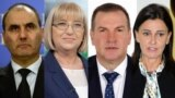 (Left to right) Tsvetan Tsvetanov, Tsetska Tsacheva, Krasimir Parvanov, and Vanya Koleva were all forced to resign senior Bulgarian government positions after being implicated in a corruption scandal. (combination file photo)