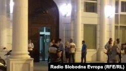 Архивска фотографија-седиштето на ВМРО-ДПМНЕ
