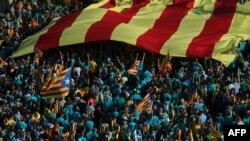 تظاهرات جداییطلبان کاتالونیا