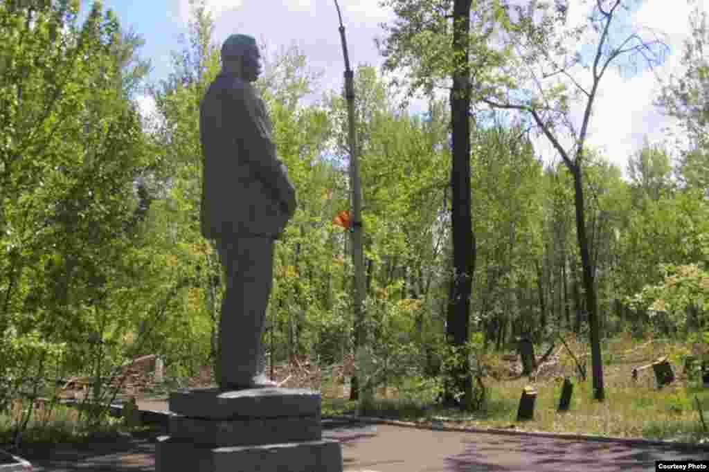 Национальный парк в столице Тувы Кызыле прежде назывался Парком культуры и отдыха имени Николая Гастелло.