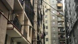 ბათუმში მშენებარე კორპუსის ჩამოშლის გამო საცხოვრებელი სახლი დაზიანდა