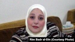 الكاتبة السورية ريم بدر الدين