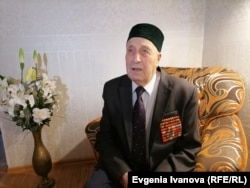 """""""The city was in ruins,"""" recalled 95-year-old Khakim Bikhteyev, a Red Army officer who served in the military administration of Koenigsberg."""