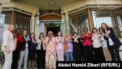 مساعدة امين عام الامم المتحدة لشؤون العنف الجنسي زينب بنغورا مع عضوات المجلس الأعلى لشؤون المرأة في كردستان