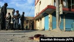 Авганистан - полициски сили во Џалалабад.