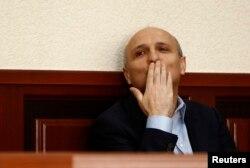Вано Мерабішвілі під час судового засідання 12 вересня 2013 року