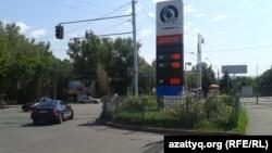 Автозаправочная станция. Алматы.