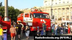 Виставку комунальної техніки в окупованому Донецьку