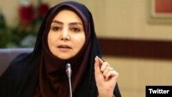 سیما سادات لاری، سخنگوی وزارت بهداشت ایران