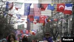 Nga përvjetori i tretë i pavarësisë, Prishtinë, 2011