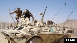 Soldați români în Afganistan - foto arhivă