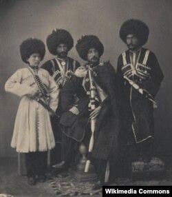 Yermolovun müsəlman arvadlarından olan öğulları