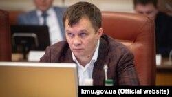 Колишній міністр розвитку економіки, торгівлі та сільського господарства України Тимофій Милованов
