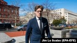 Адвокат Алекс ван дер Сваан, зять российского миллиардера Германа Хана.