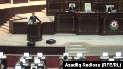 Azerbaýjanyň parlamenti.