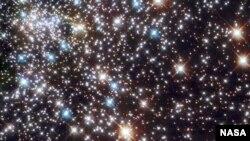 یکی از عکسهایی که تلسکوپ هابل گرفته است.